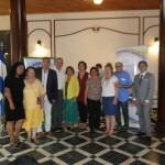 José Antonio Fernández Bravo con el resto de ponentes del 5º Encuentro Mesoaméricano y 11º Encuentro nacional de Educación inicial y preescolar El Salvador 2016