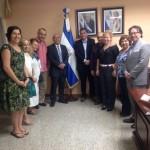 El profesor Fernández Bravo se reunió con el Ministro de Educación